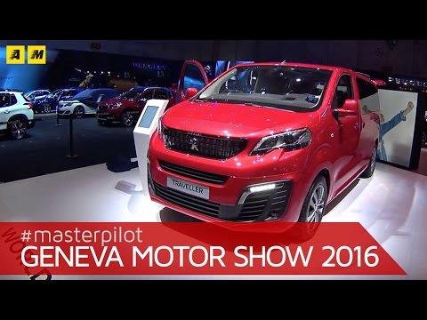 Peugeot Traveller   Ginevra 2016