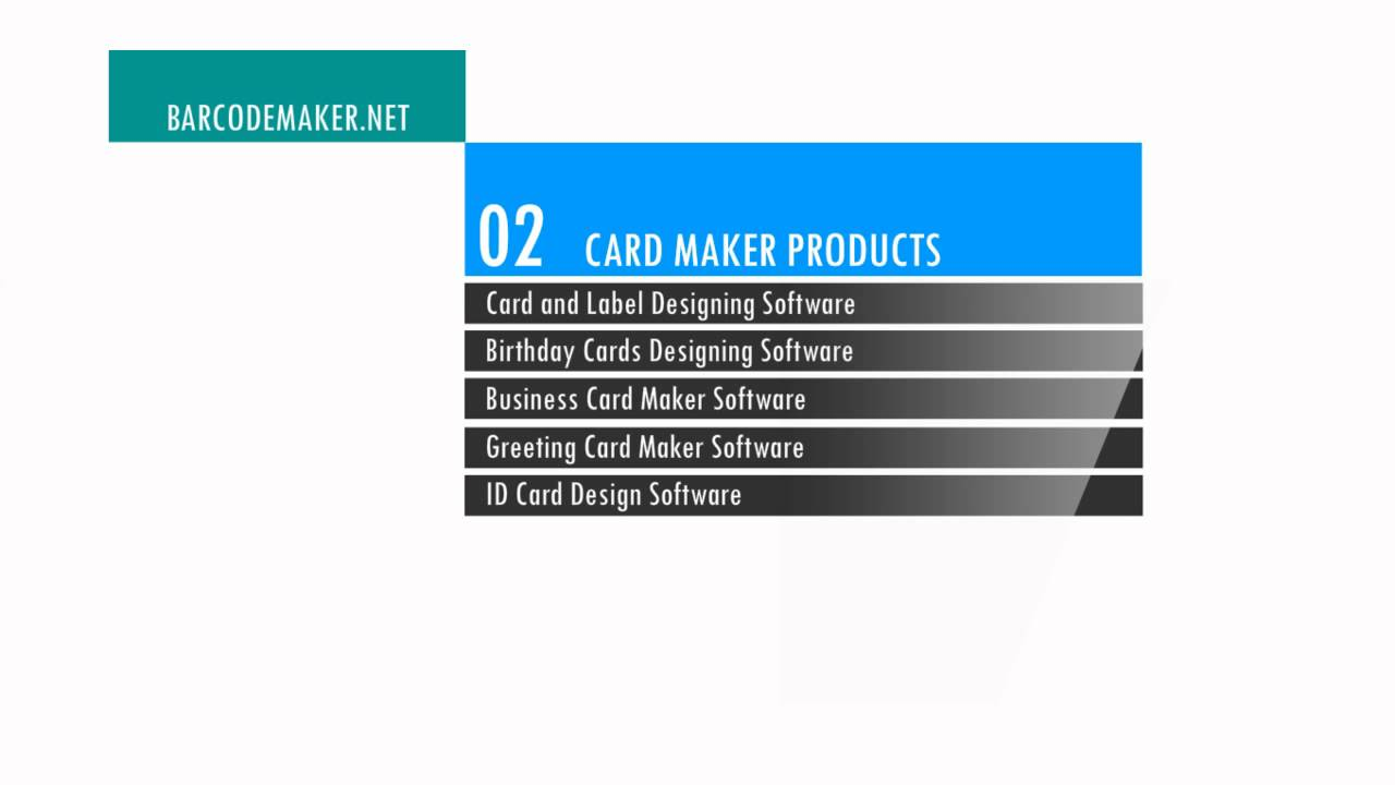 Free Barcode Maker Software 2d Bar Code Label Creator Generator Designer Tool Windows Mac Apple Youtube