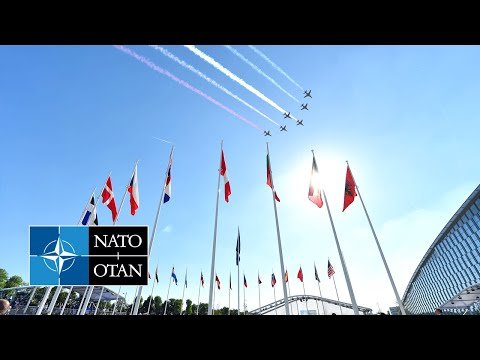 New NATO Headquarters Handover Ceremony and Fly-past, 25 MAY