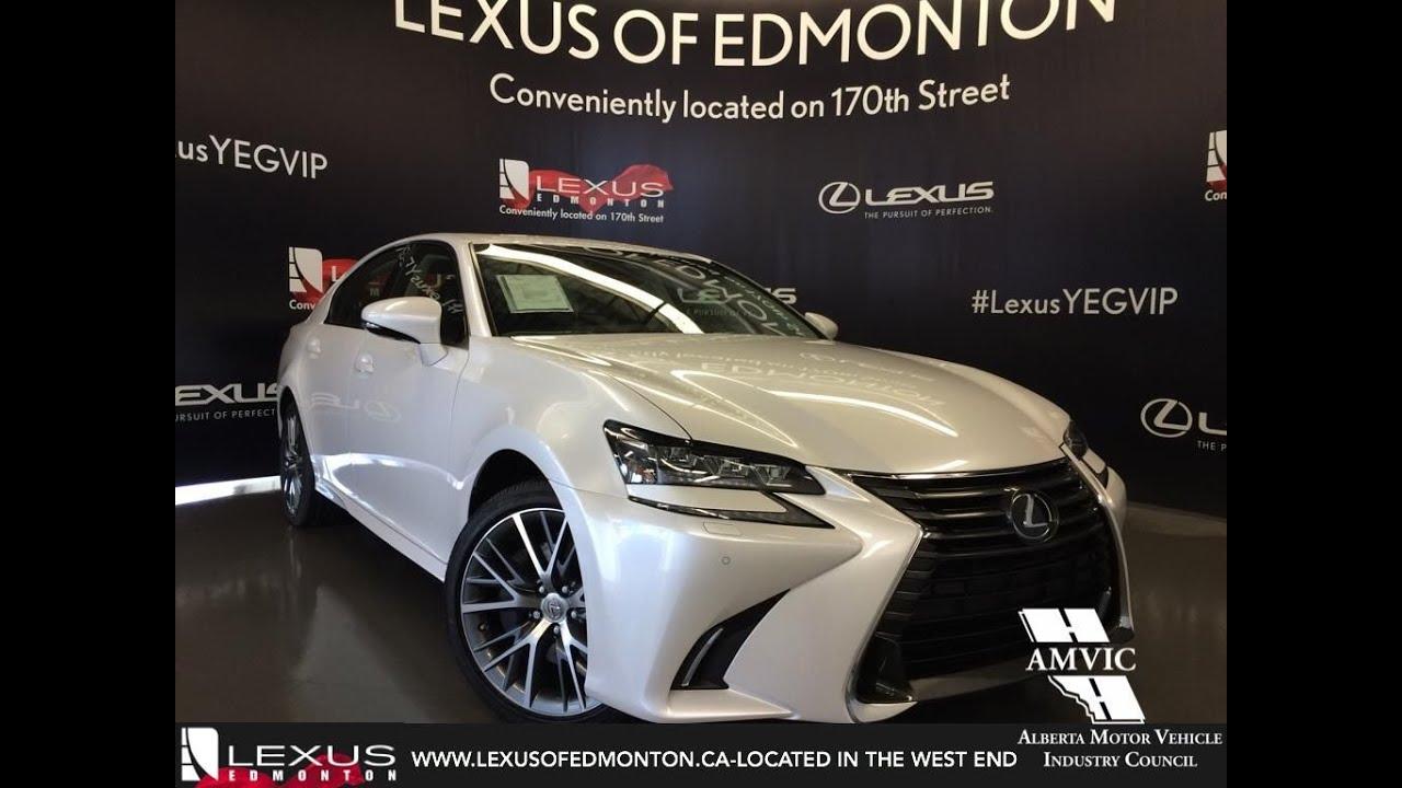 2016 White Lexus Gs 350 Awd Executive Walkaround Review