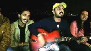 Vaibhav and His Friends Performing at Marine Drive - 2nd Jan 2015