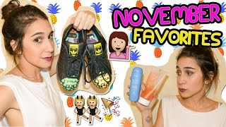 November favorites | Favoritos de noviembre - Fashion Diaries