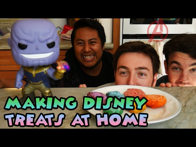 Making Disneyland Treats at Home!   Avengers Campus Infinity Churros