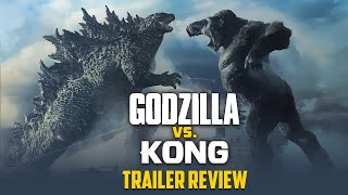 Godzilla Vs Kong Trailer reaction| 90s Kids memories are back | cinema kichdy