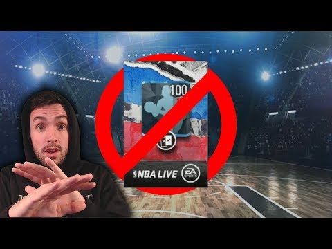 [WARNING] DON'T OPEN THIS PACK YET (NBA Live Mobile)