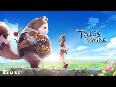 Tales Of Wind Action MMORPG Android & iOS Gameplay Part 2   Mobile MMORPG Games  