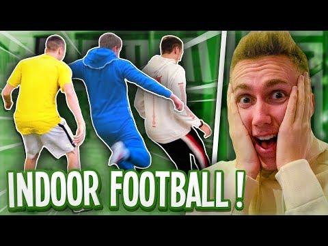 SIDEMEN INDOOR FOOTBALL!