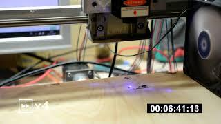 Прошивка GRBL 1.1f и работа лазера на CNC 3018 / CNC 2418 / CNC 1610