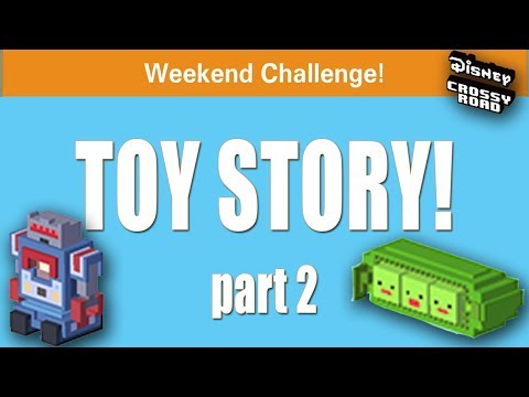 WE CANT'T LOSE THIS! - Disney Crossy Road TOY STORY Weekend Challenge - Pt. 2