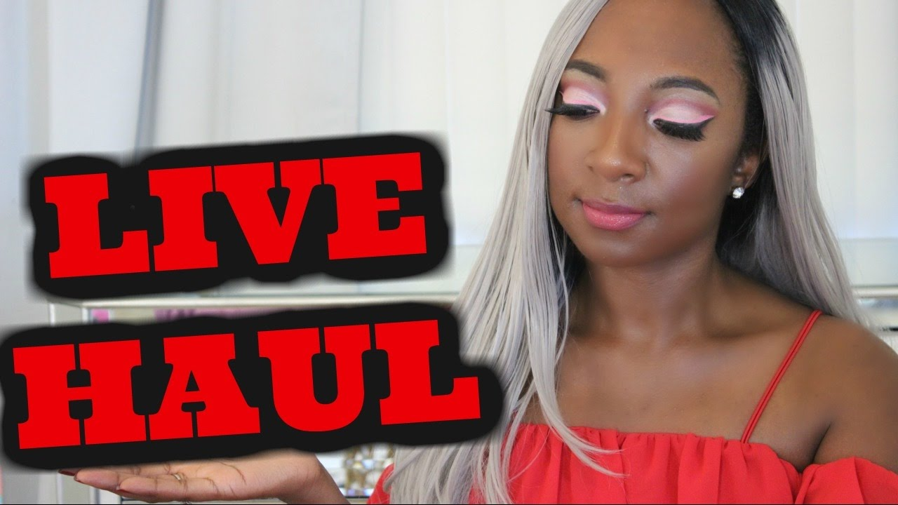 Live Stream #14 PR Haul- Lancome Visionnaire Yeux,  Estee Lauder and More