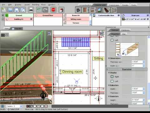 3D Home Design By Livecad Tutorials 07 Staircase