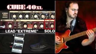 CUBE XL Series Guitar Amplifiers: CUBE-40XL & CUBE-80XL