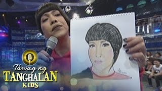 Tawag ng Tanghalan Kids: Vice Ganda receives a drawing from Madlang people