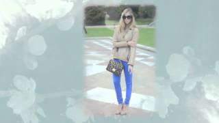 С чем носить узкие брюки