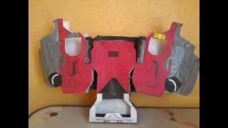 kamen rider w/  w(double)driver papercraft