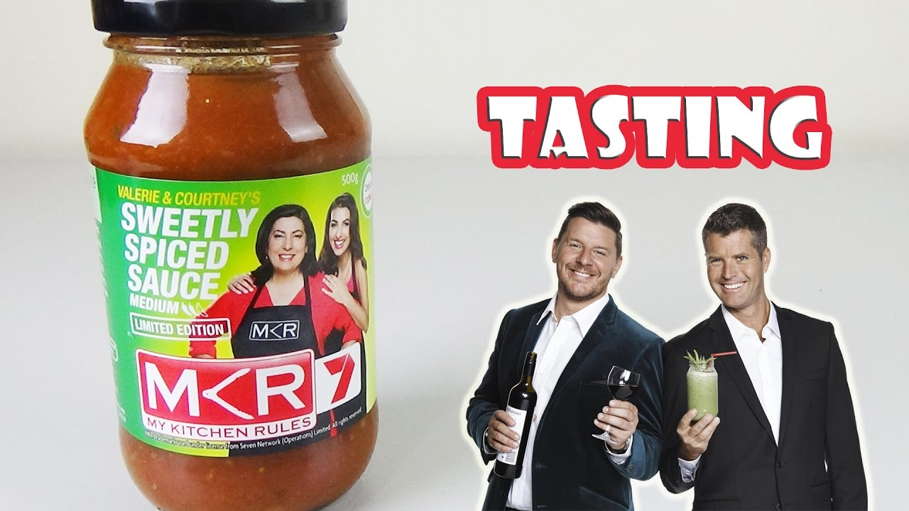My Kitchen Rules Winning Sauce Tasting - Valerie & Courtney Sweetly ...
