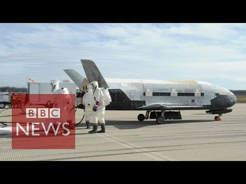 Top secret space plane lands in US - BBC News