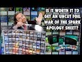 Is It Worth It To Get An Uncut Foil War Of The Spark Apology Sheet - Magic: The Gathering