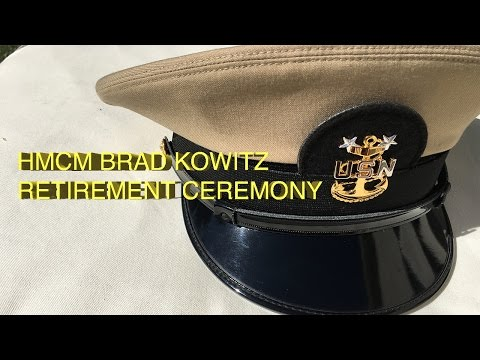 Navy Retirement Ceremony - Master Chief Hospital Corpsman