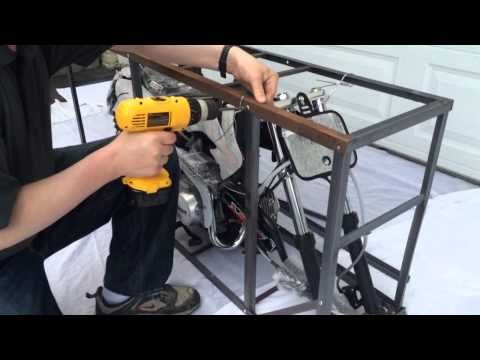 Assembling a SSR 125 Pit Bike with Powersports Distro -Part 1