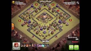 Clash of Clans | when a Global idiot says he can wipe my base