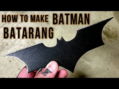 How to Make a Batman Throwing Star