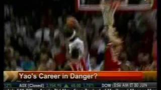 Yao's Career In Danger - Bloomberg