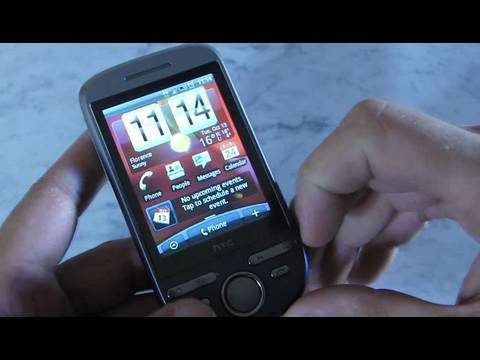 htc TATTOO video review PART 1 - eng -