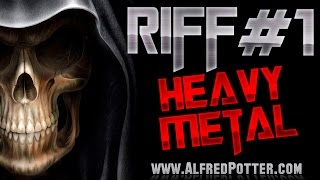 Riff #1 - Open Riffing Heavy Metal