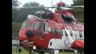 Newcastle Airshow Festival of Flight 2013 - Part 2 - Irish Coastguard Display