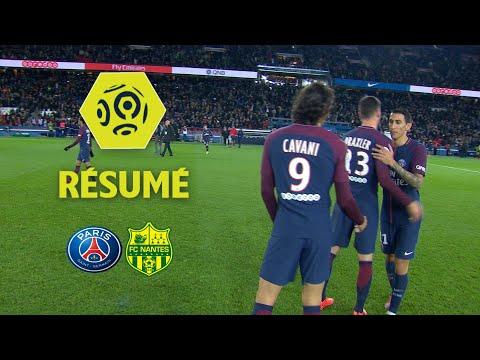 Paris Saint-Germain - FC Nantes (4-1)  - Résumé - (PARIS - FCN) / 2017-18