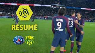 Paris Saint-Germain - FC Nantes (4-1)  - Résumé - (PARIS - FCN) / 2017-18