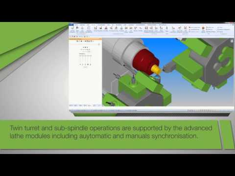 Alphacam CAD/CAM Software | CNC Turning