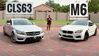 BMW M6 VS MERCEDES CLS63 AMG PERFORMANCE