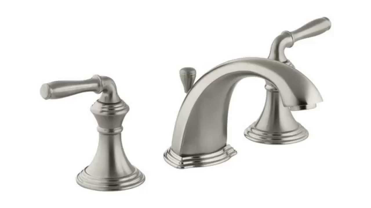 KOHLER K 394 4 BN Devonshire Widespread Lavatory Faucet Reviews ...