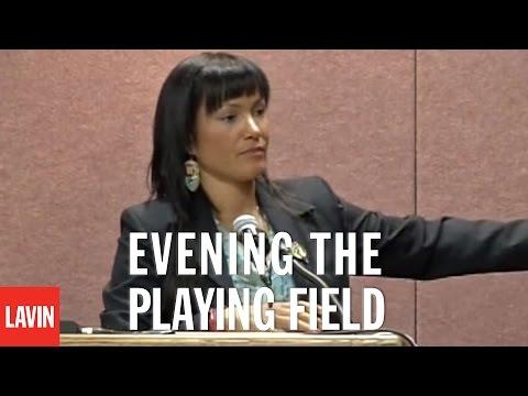 Native Speaker Waneek Horn-Miller: Evening the Playing Field