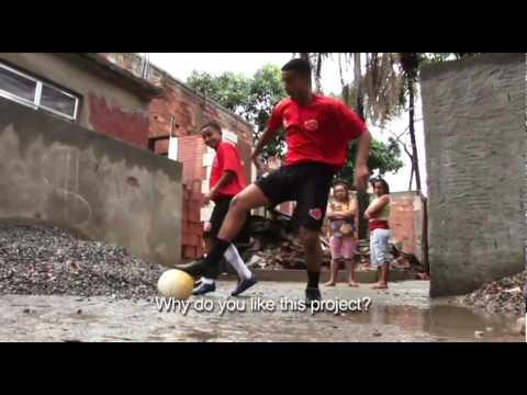 Future Kings of Brazilian Soccer - Inside Mangueira Favela