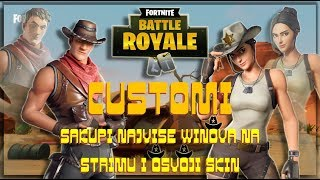 CUSTOMI | CONQUER SKIN WITH MOST WINOVA | BALKAN FORTNITE
