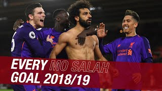 Every Mo Salah goal from the 2018/19 season  Chelsea screamer, CL Final penalty and more