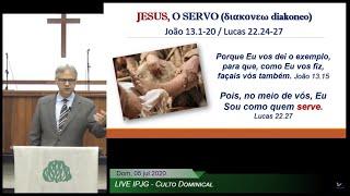 Jesus, o servo (διακονεω diakoneo)