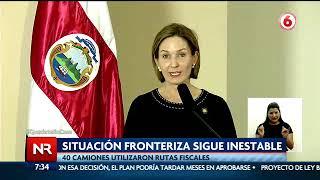 Nicaragua y Honduras limitan el ingreso de transportistas a Costa Rica