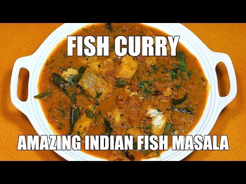 Fish Curry - How to Make Fish Curry - Fish Masala - Easy Fish Curry - Best Fish Masala