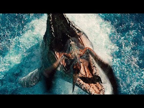 Pterosaur Attack Scene - Jurassic World (2015) Movie Clip HD