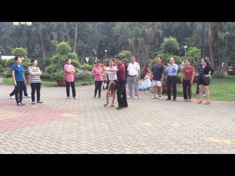 Samba căn bản-CLB Khiêu vũ dưỡng sinh Nhịp sống vui