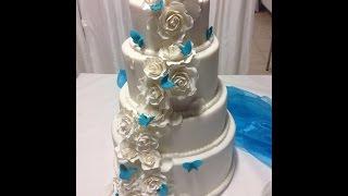 4-stöckige Hochzeitstorte/ Teil 2 - Füllungen vorbereiten & Torten füllen