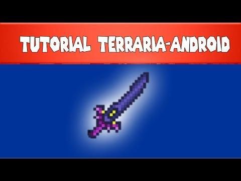Terraria-Android Como Fazer a Lâmina Da Noite/Night Edge