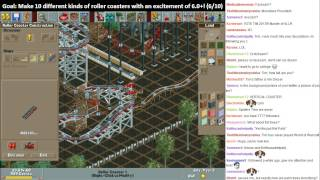 MonotoneTim Roller Coaster Tycoon   almost done with Loopy Landscapes!