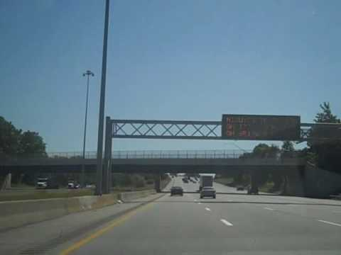 I-90 East in Cleveland, OH