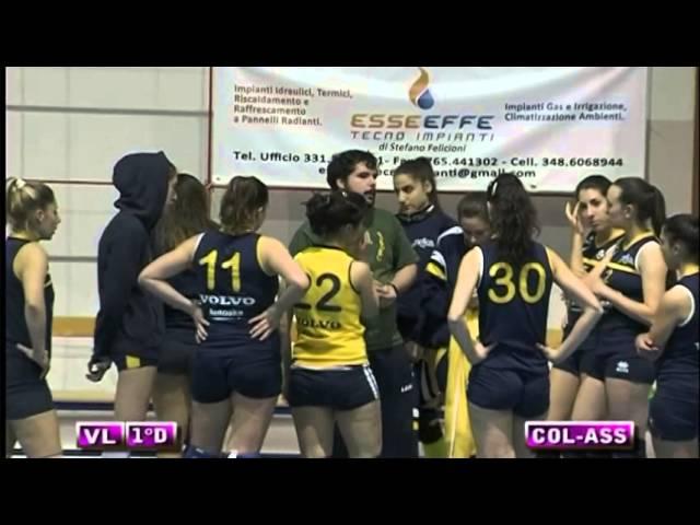 Colonnetta vs Assport Roma 3 Piva - 5° Set