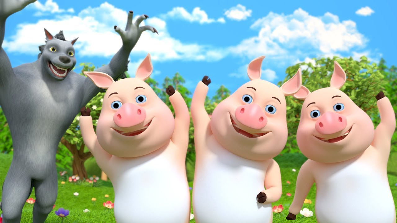 Download Three Little Pigs   Nursery Rhymes for Children   Stories for Babies by Little Treehouse
